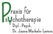 Logo Praxis für Psychotherapie Markela